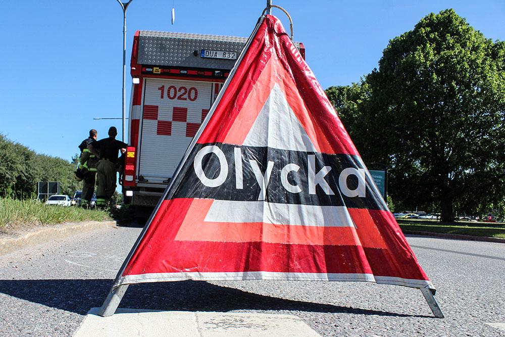 Trafikolycka - Räddningstjänsten