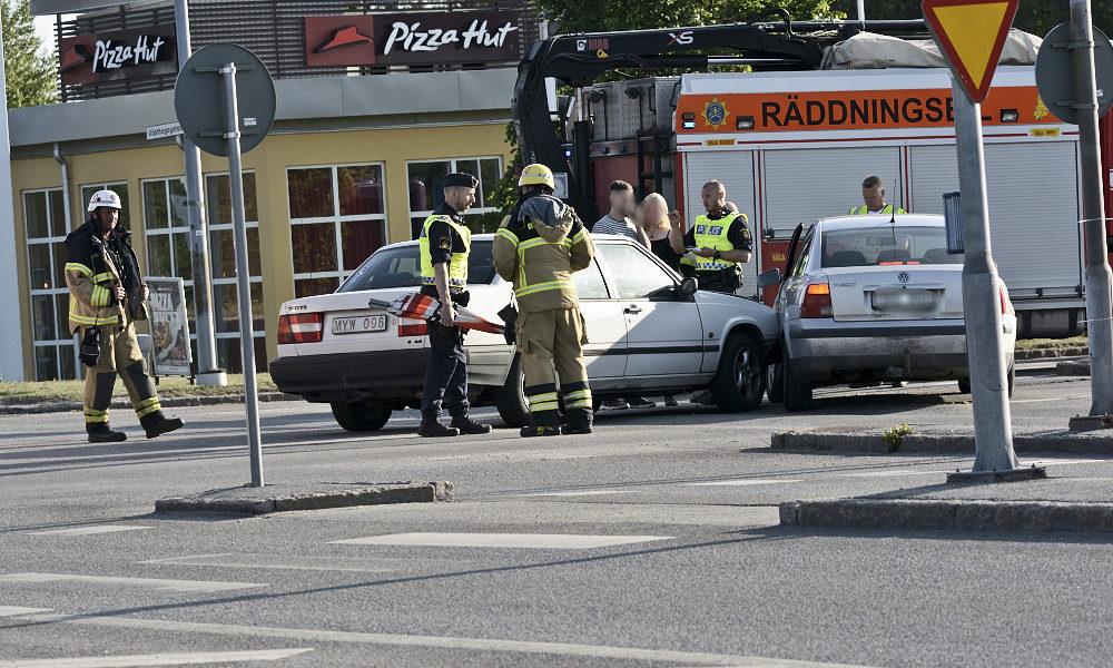 Trafikolycka-Hagagatan-Västhagagatan