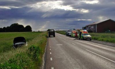 Trafikolycka-Östansjö