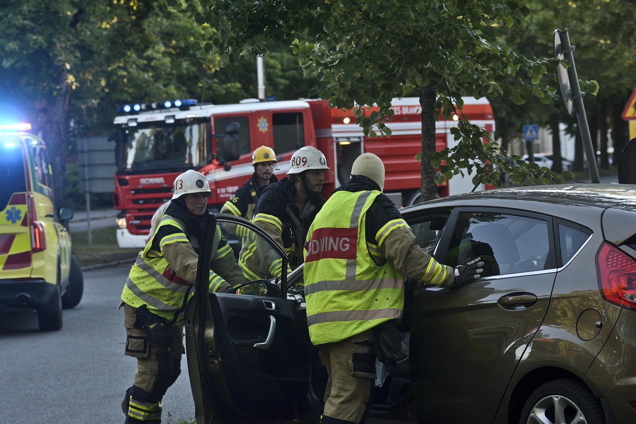 Trafikolycka-Oskarsvägen-Örebro
