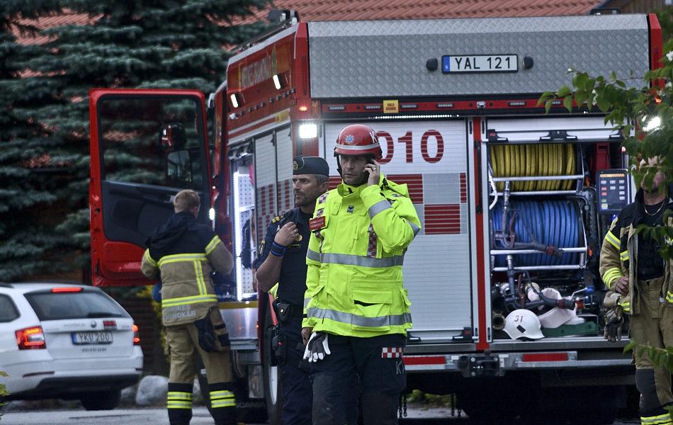 Villabrand i Brickeberg-Räddningstjänsten