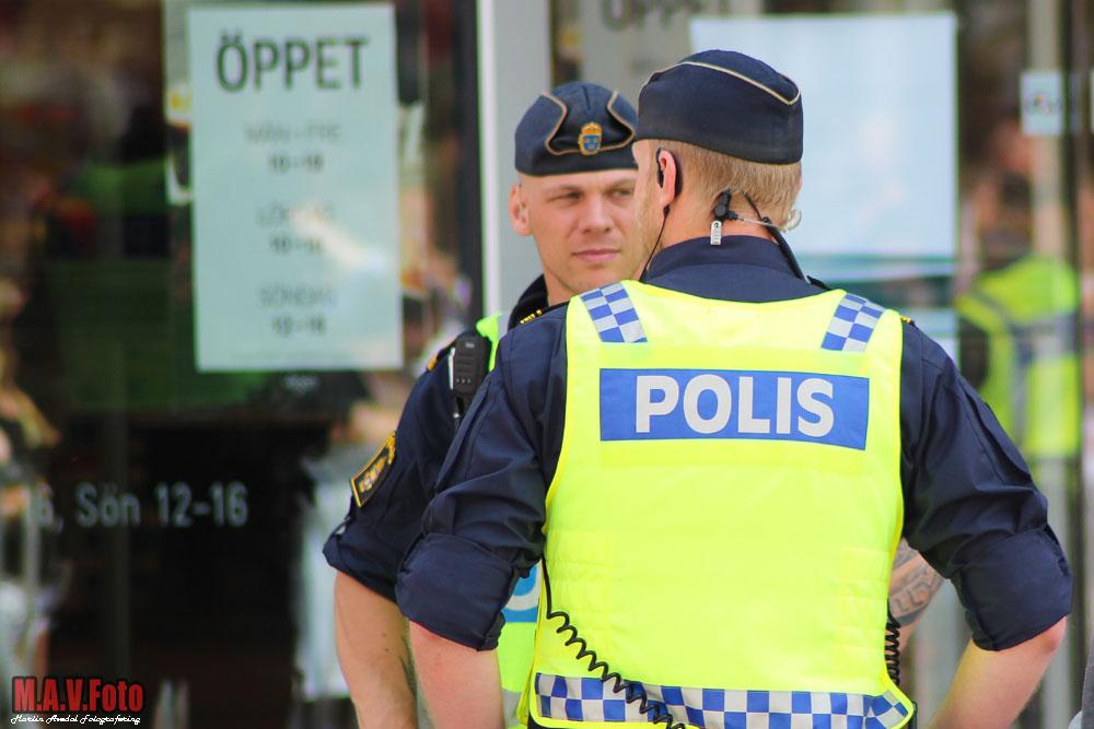 Polis-Arkivbild