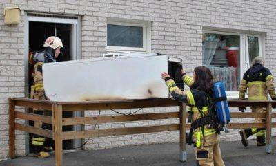 Brand i lägenhet - Askersund