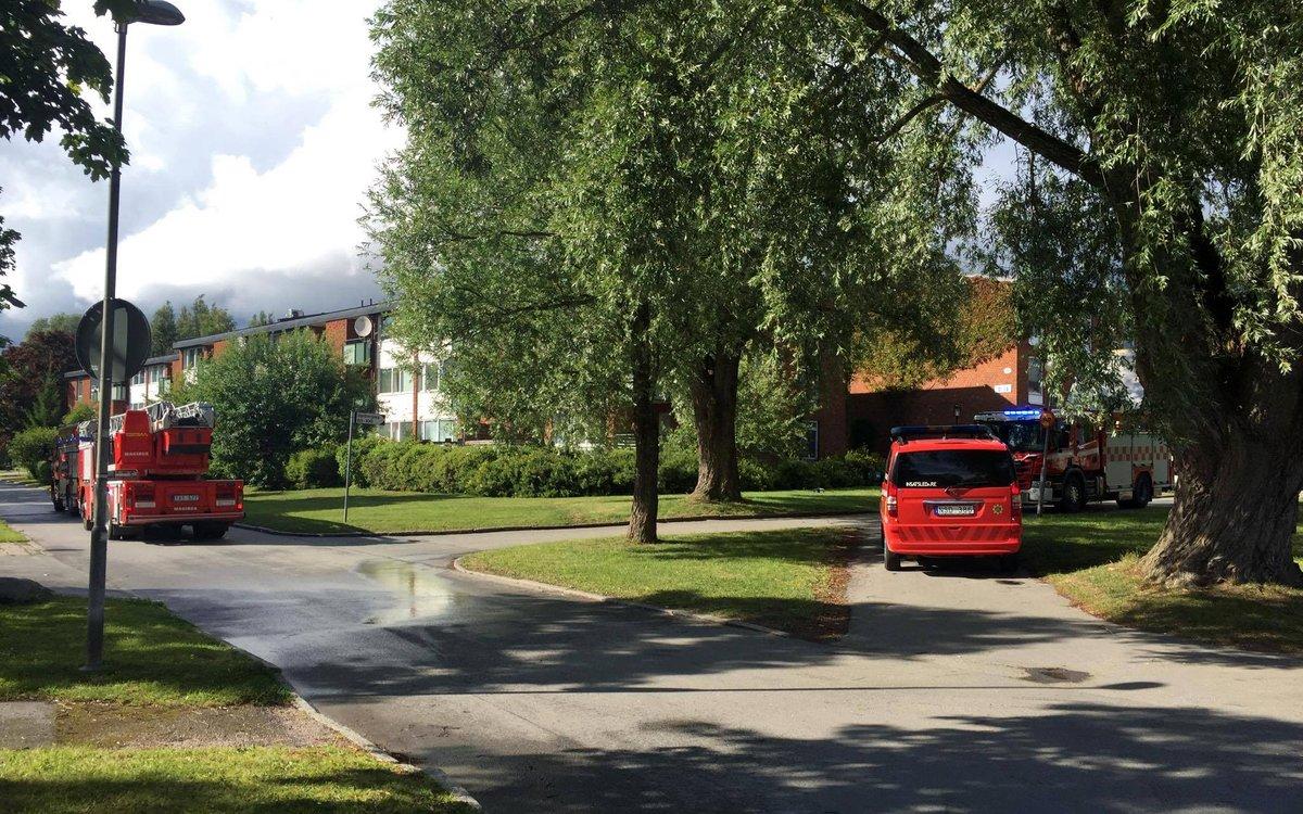 Lägenhetsbrand-Varberga