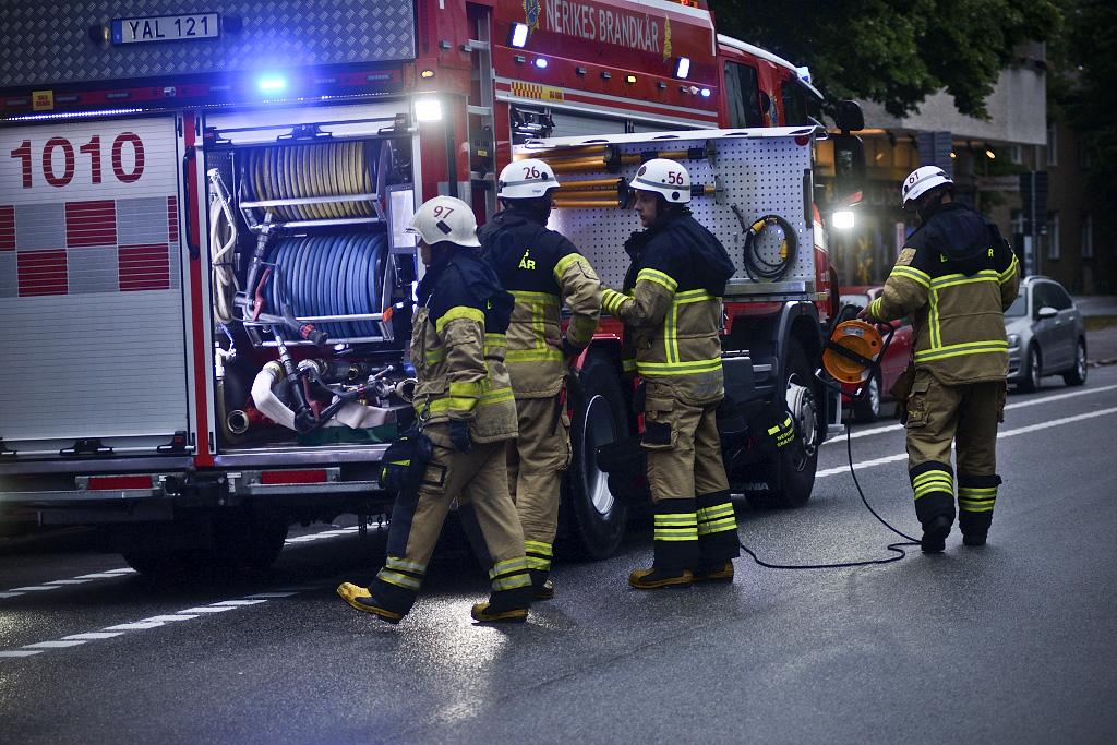 Lägenhetsbrand Örebro