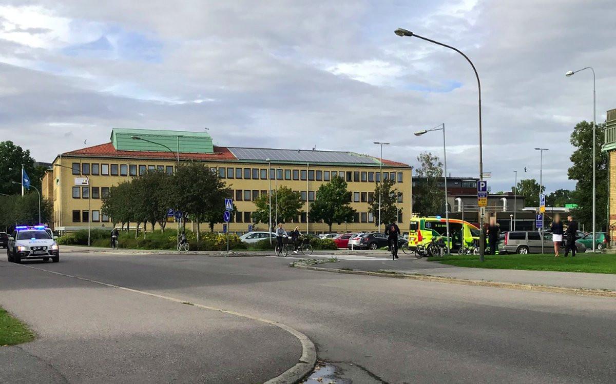 Trafikolycka-Eklundavägen
