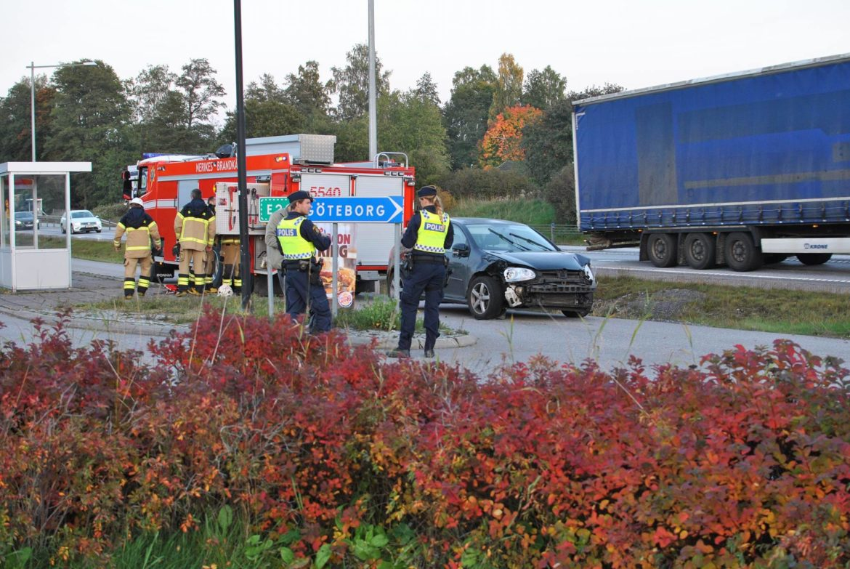 Trafikolycka i Laxå