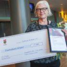 Eva Thurfjell tog emot pedagogiskt pris