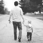 Människor-Pappa-Barn