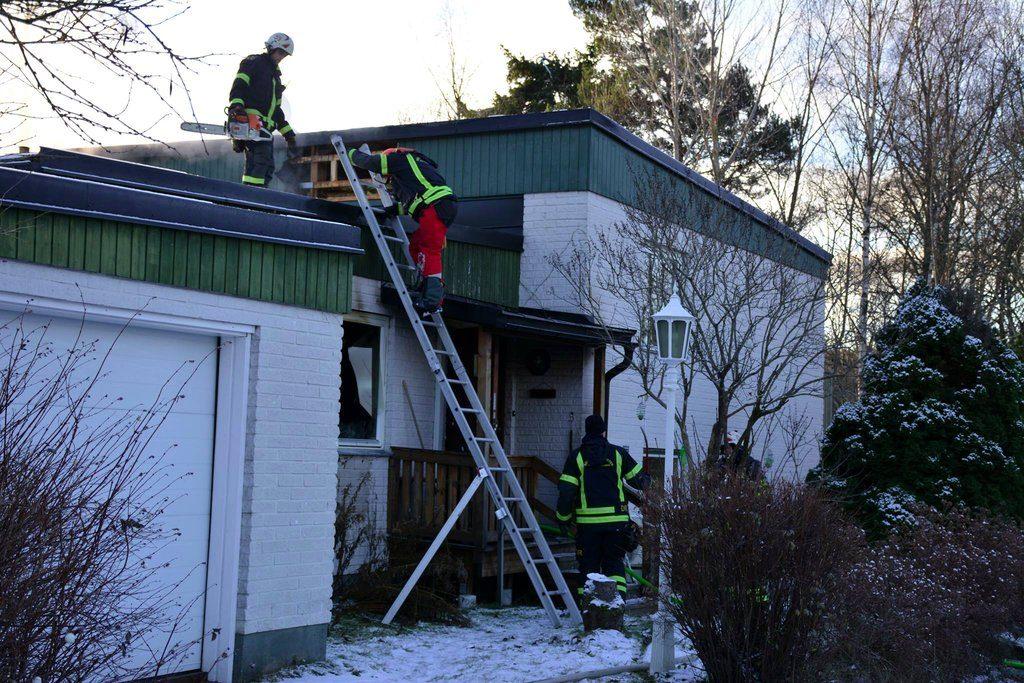 Villabrand i Kopparberg