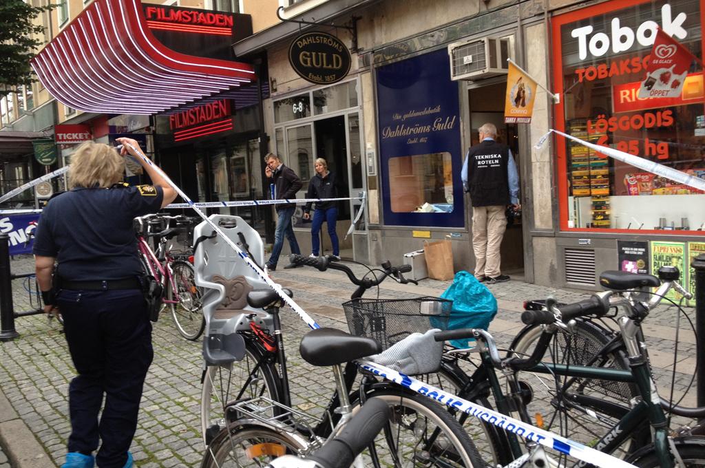 Rån mot Guldsmed i Örebro
