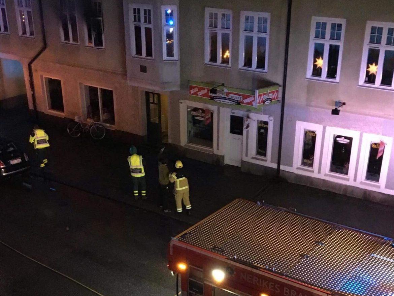 Lägenhetsbrand-Kristinagatan i Örebro