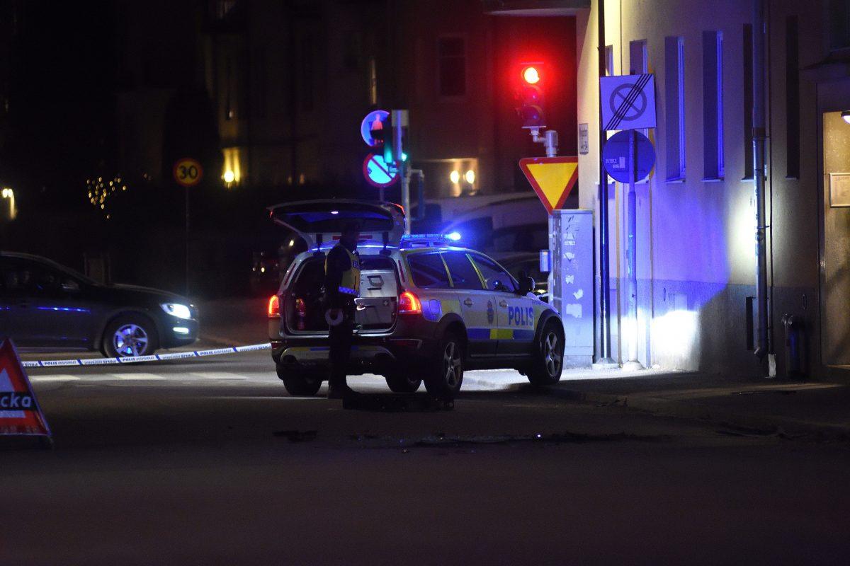 Skottlossning - Polis