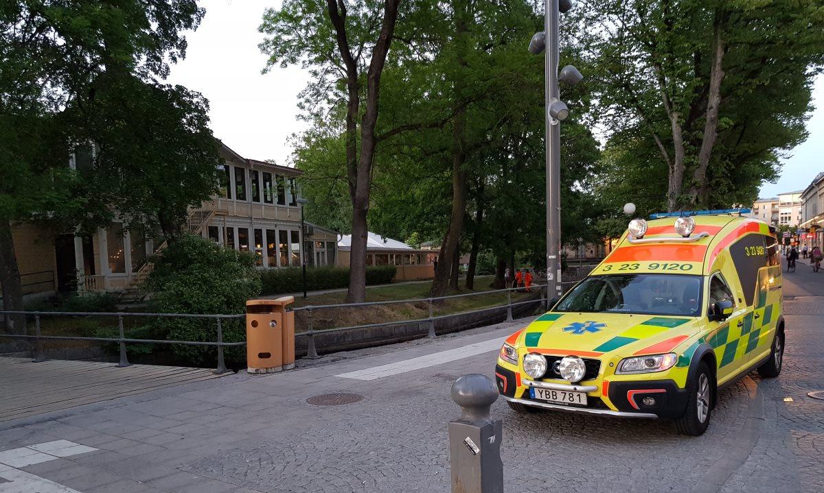 Drunkningstillbud vid Strömpis i Örebro