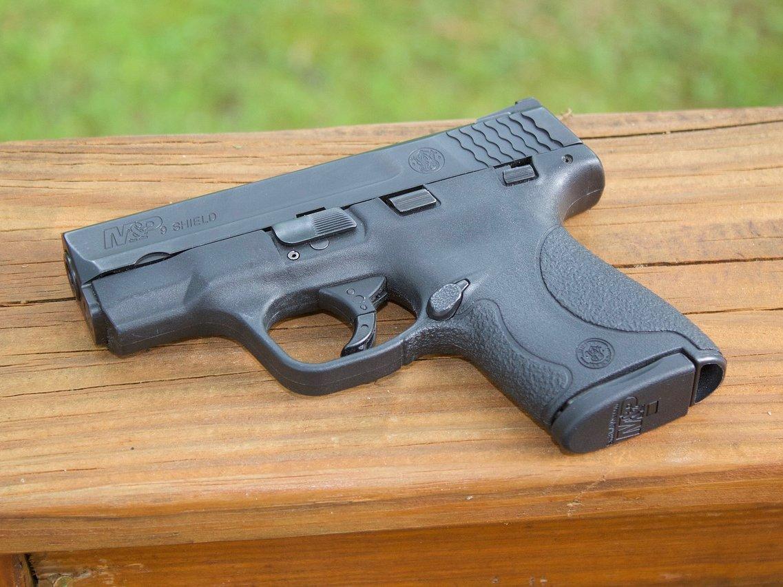 Enhandsvapen-pistol