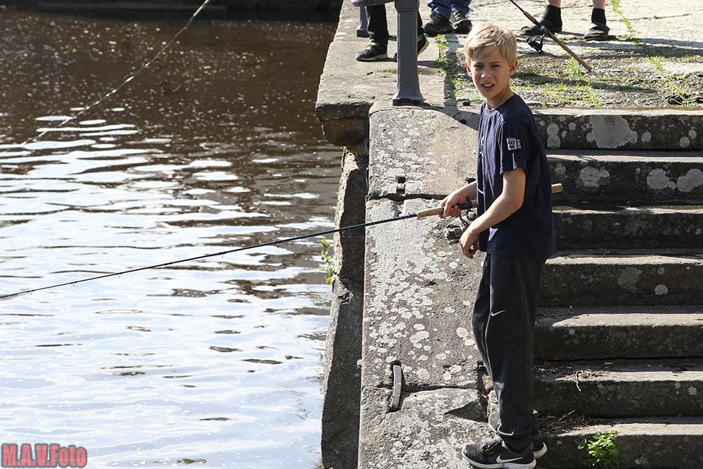 Fiskepremiär i Örebro