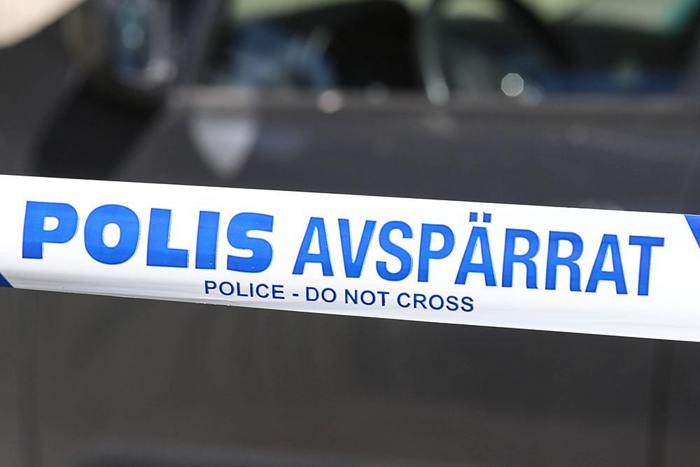 Polis - Avspärrat i Örebro
