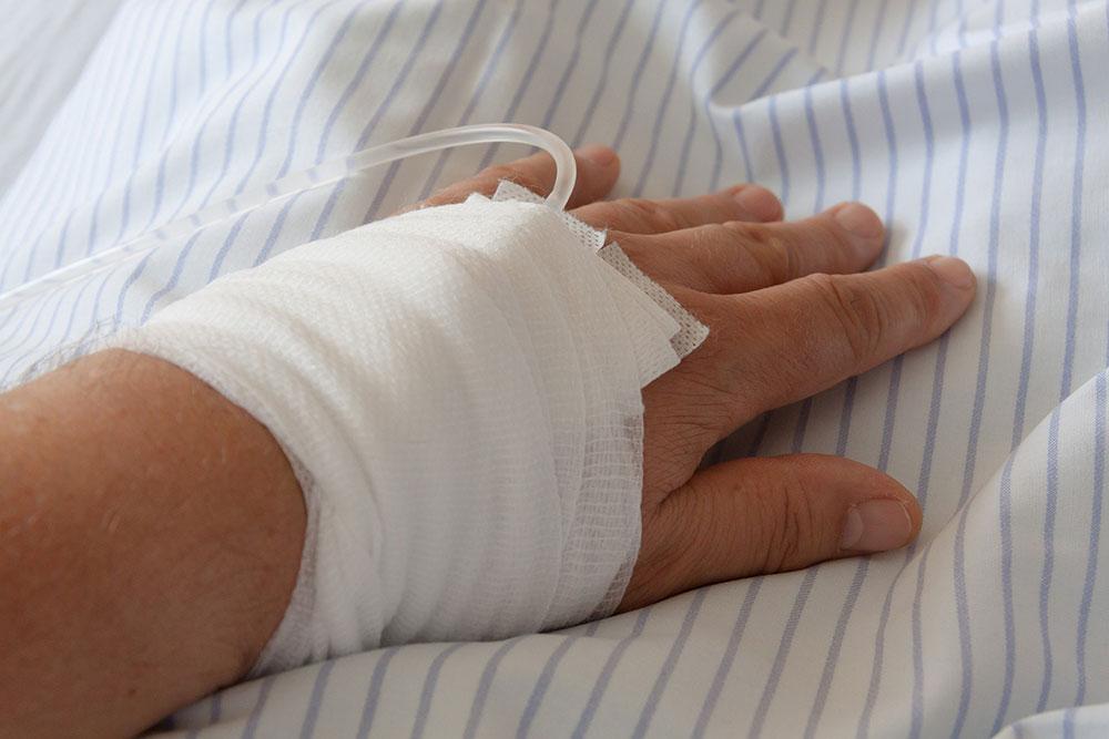 Hand-Skadad-Sjuk-Sjukhus