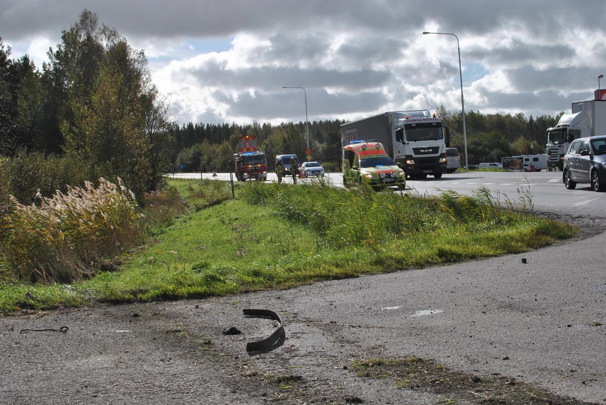 Trafikolycka-Brändasen-Hallsberg-Kumla