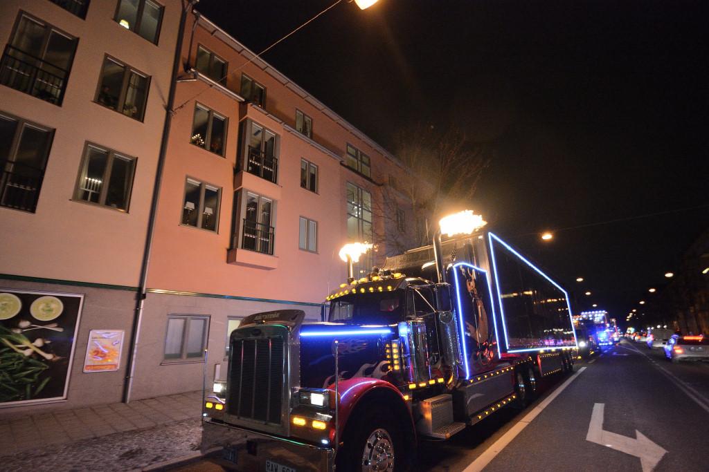 Christmas Convoy i Örebro