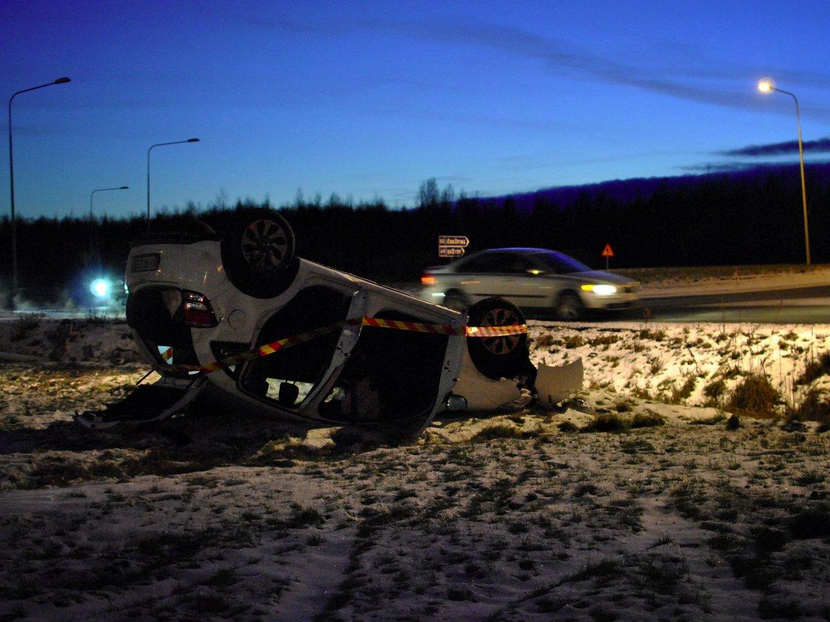 Trafikolycka i Askersund