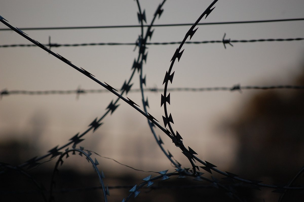 Taggtråd - Fängelse