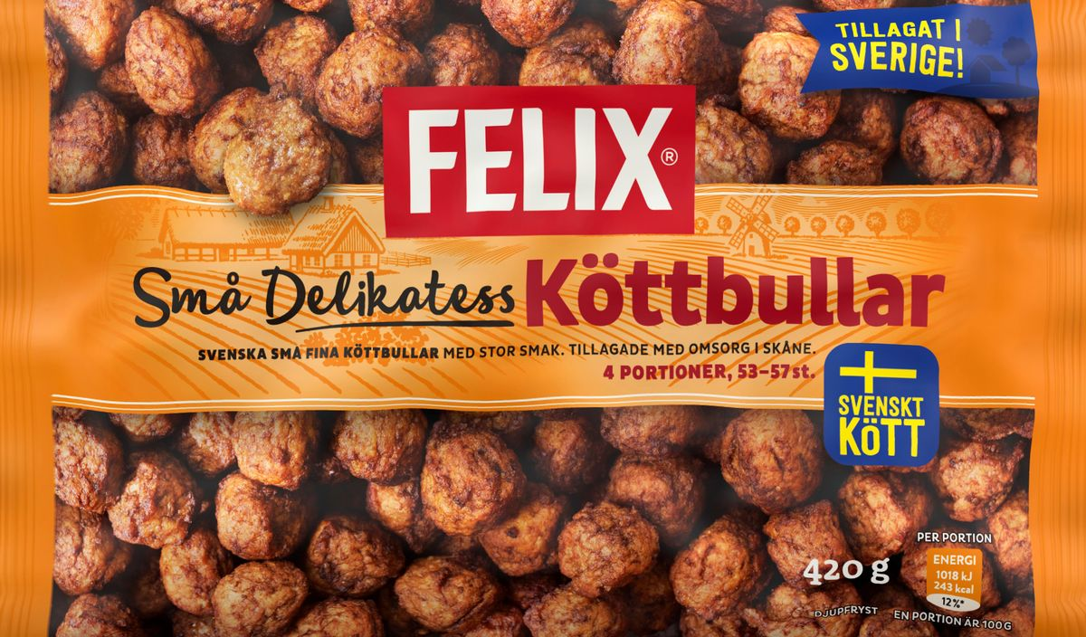 Felix-Delikatessköttbullar