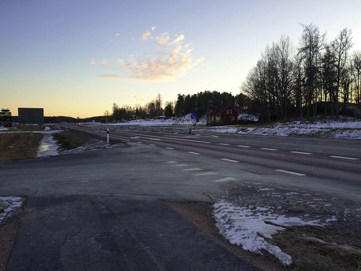 Trafikolycka utanför Askersund - Christian Vargahed