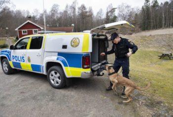 Polisens nya hundfordon